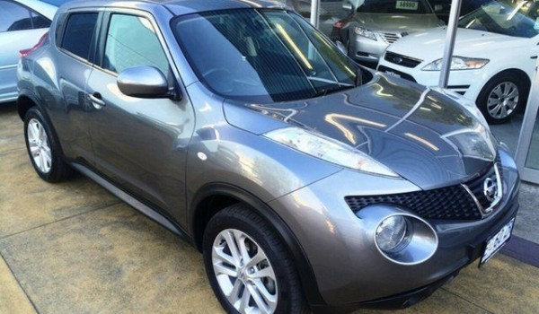 2014 Nissan Juke F15 ST (FWD) Gunmetal Grey Continuous Variable Wagon