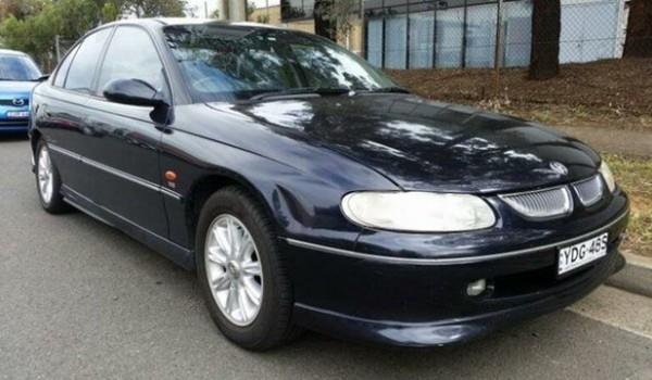 1998 Holden Calais VT Black 4 Speed Automatic Sedan
