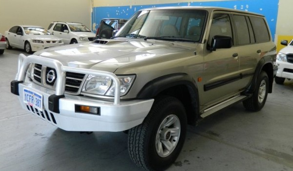 03 Nissan Patrol Turbo Diesel 4×4 Wagon NO DEPOSIT FINANCE!