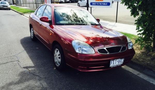 2000 daewoo nubira.. Low kms.. RWC..registration