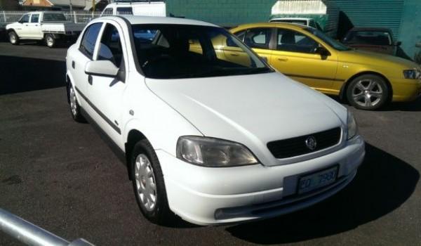 2002 Holden Astra City Hatchback