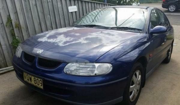 1999 Holden Commodore Vtii Acclaim Blue 4 Speed Automatic Sedan