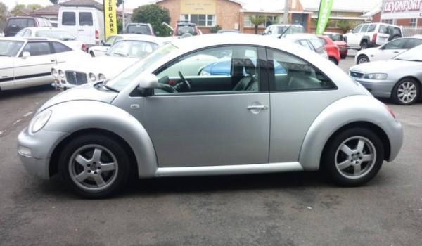 2002 Volkswagen Beetle Auto 2.0 Turbo Hatchback.