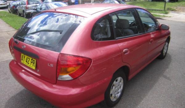 2000 Kia Rio Hatchback Automatic LS 9 MONTHS REGO
