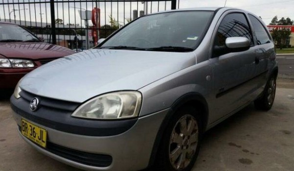 2003 Holden Barina XC SXI Silver 4 Speed Automatic Hatchback