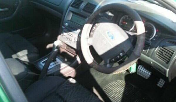 2004 Ford Falcon BA MkII XR6 Acid Green 4 Speed Auto Seq Sportshift Sedan