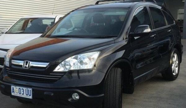 2009 Honda CR-V RE MY2007 Sport 4WD Black 5 Speed Automatic Wagon