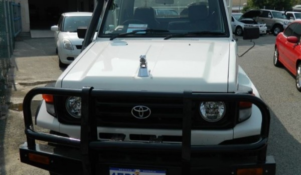 '03 Toyota LandCruiser Tray Top Ute with NO DEPOSIT FINANCE!*