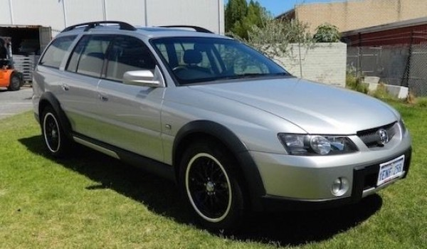 '04 Holden Adventra LX8 Wagon with NO DEPOSIT FINANCE!*