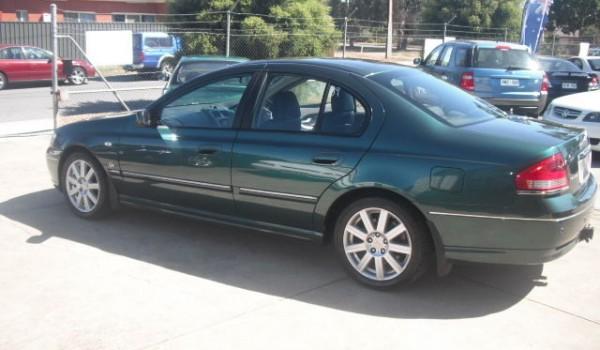 2006 Ford Fairmont Sedan
