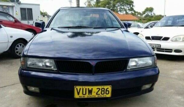 1998 Mitsubishi Magna TF Sports Blue 4 Speed Auto Sports Mode Sedan