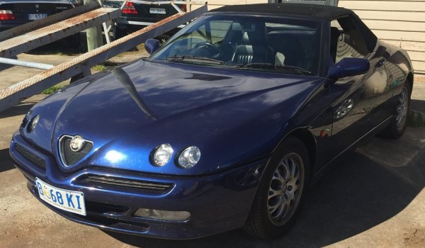 2002 Alfa GTV Spider