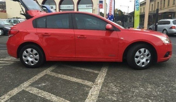 2012 Holden Cruze JH Series II MY13 CD Red Hot 6 Speed Automatic Hatchback