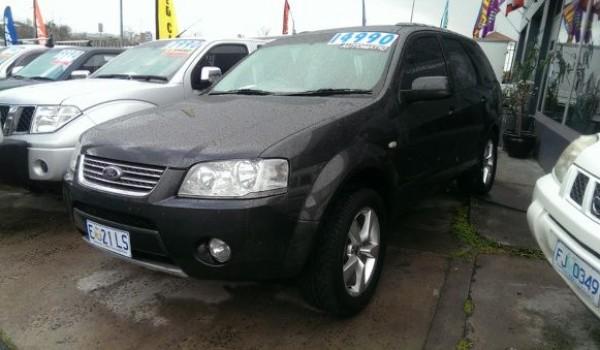 2007 Ford Territory Ghia Wagon (MY2007)