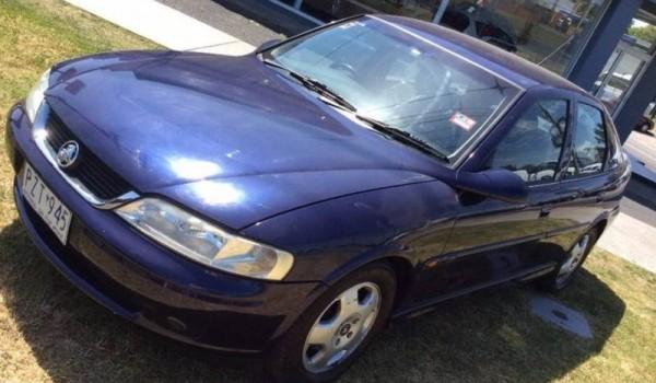 1999 Holden Vectra Sedan
