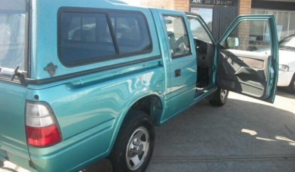 1998 Holden Rodeo TFR7 LT Green 4 Speed Automatic Crewcab