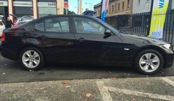 2007 BMW 320I Sapphire Black Automatic Sedan