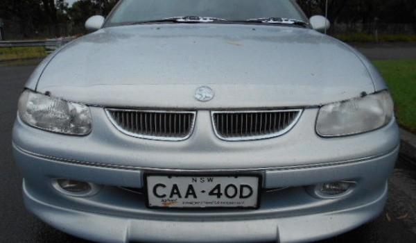1999 Holden Calais Sedan V8 5.0L By design vt series