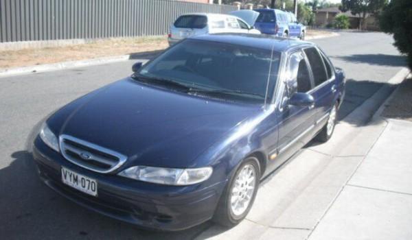 1997 Ford Fairmont EL Blue 4 Speed Automatic Sedan