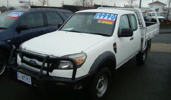 2009 Ford Ranger XL Super Cab 4×4 Flat Tray
