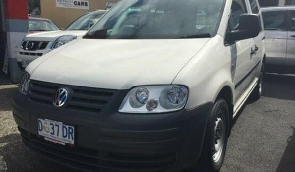 2010 Volkswagen Caddy Candy White Auto Sportshift Van