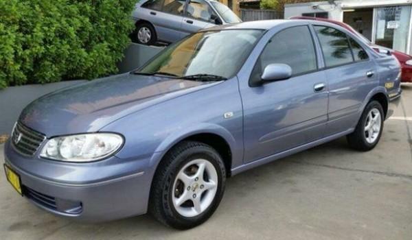 2005 Nissan Pulsar N16 MY04 ST Blue 5 Speed Manual Sedan