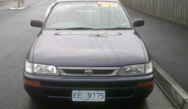 1997 TOYOTA COROLLA SECA AUTO
