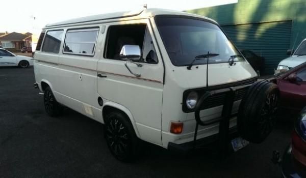 1982 Volkswagen Transporter Kombi Motor Home