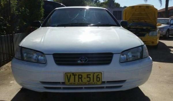 1999 Toyota Camry MCV20R CSI White 4 Speed Automatic Wagon