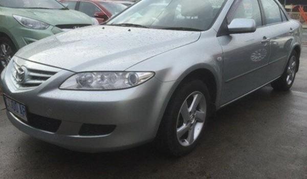 2005 Mazda 6 GG1031 MY04 Limited Silver 4 Speed Sports Automatic Sedan