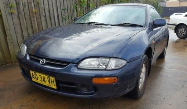 1998 Mazda 323 Astina Shades Blue 5 Speed Manual Hardtop
