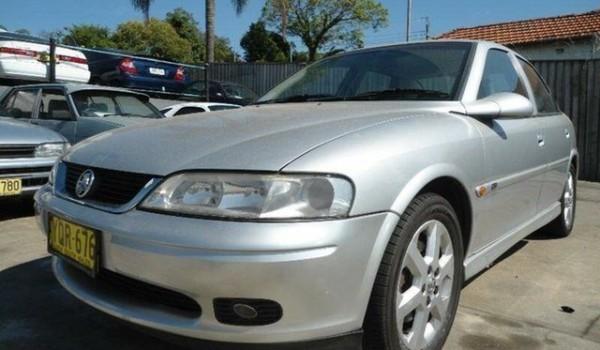 2001 Holden Vectra Jsii Equipe Silver 5 Speed Manual Sedan