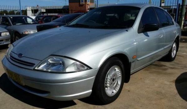 1999 Ford Falcon AU Futura Silver 4 Speed Automatic Sedan