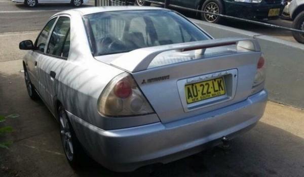 2000 Mitsubishi Lancer CE Glxi Silver 5 Speed Manual Sedan