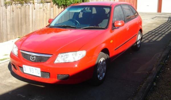 2003 Mazda 323 Astina Hatchback