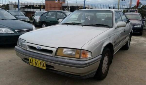 1990 Ford Telstar AV TX5 Ghia Silver 4 Speed Automatic Hatchback