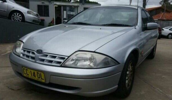 1999 Ford Falcon AU Classic Silver 4 Speed Automatic Sedan