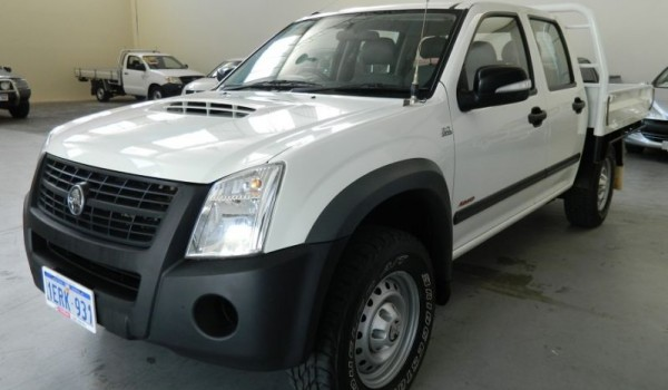 '08 Holden Rodeo Turbo Diesel 4×4 Ute with NO DEPOSIT FINANCE!*