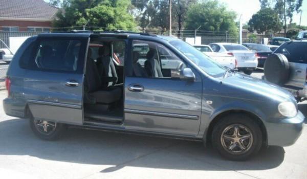 2002 Kia Carnival LS Grey 4 Speed Automatic Wagon