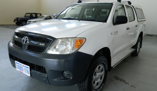 '06 Toyota Hilux Dual Cab V6 Ute with NO DEPOSIT FINANCE!*