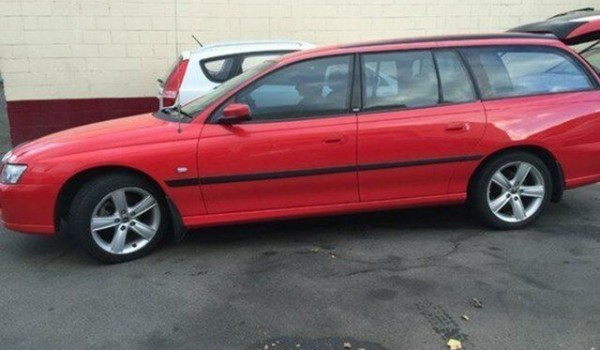 2005 Holden Commodore VZ Acclaim Red Hot 4 Speed Automatic Wagon