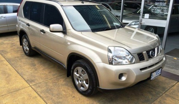 2009 Nissan X-Trail T31 MY10 ST (4×4) Gold 6 Speed CVT Auto Sequential Wagon