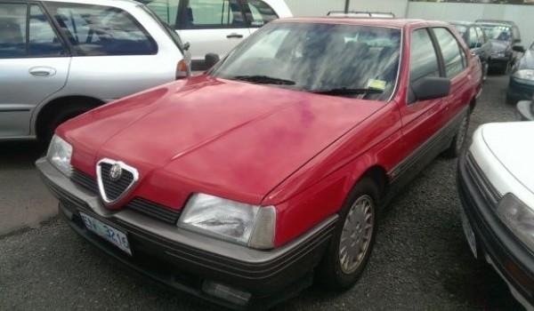 1989 Alfa Romeo 164 Sedan