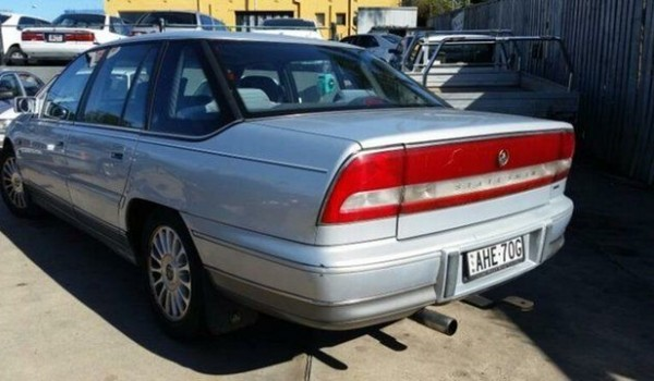 1998 Holden Statesman VSII V6 Silver 4 Speed Automatic Sedan