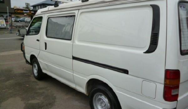 1990 Toyota HiAce Camper Van.