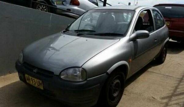 1995 Holden Barina SB JOY Silver 5 Speed Manual Hatchback