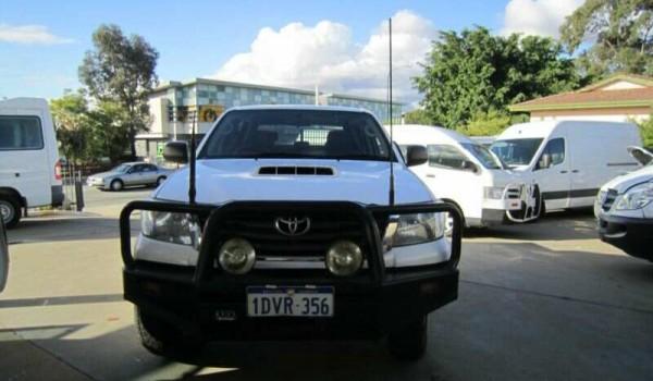 2012 Toyota Hilux KUN26R SR 4×4 Dual Cab Trayback