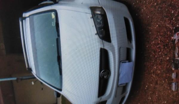 2007 White Holden Commodore