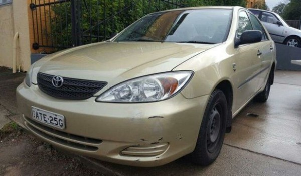 2004 Toyota Camry MCV36R Altise Gold 4 Speed Automatic Sedan