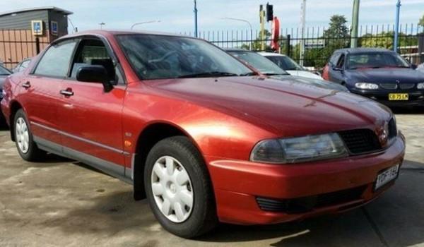 2000 Mitsubishi Magna TJ Executive Red 4 Speed Automatic Sedan